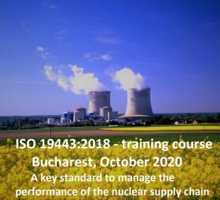 ISO 19433:2018 – Calitate în lanțul de aprovizionare nucleară.